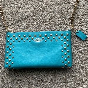 COACH Zipper Chain Clutch